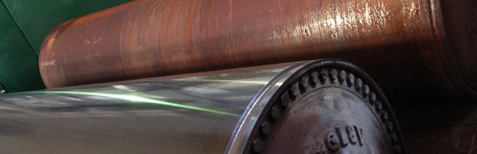 Paper machine roll maintenance. Ralex Industry.